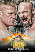 WWE SURVIVOR SERIES 2016 Poster by CRISPY6664