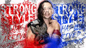 WWE Shinsuke Nakamura Wallpaper 2016 by CRISPY6664