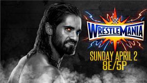 WWE WRESTLEMANIA 33 wallpaper by CRISPY6664