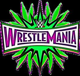 WWE WRESTLEMANIA 33 LOGO VERSION MARIA
