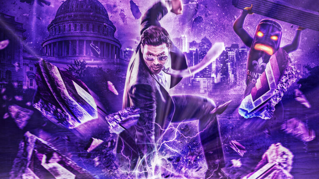 Saints Row Iv Wallpaper By Crispy6664 On Deviantart