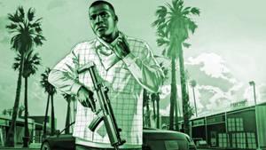 GTA V Franklin Wallpaper