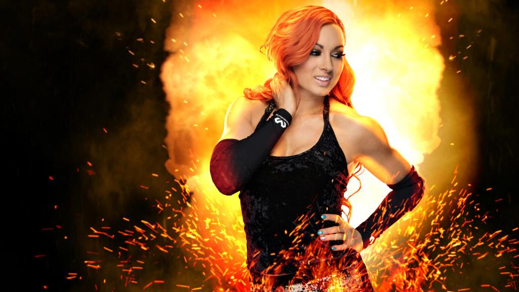 WWE Becky Lynch Wallpaper by CRISPY6664