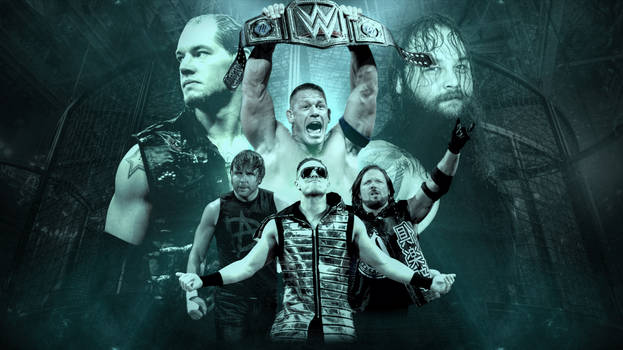 WWE Elimination Chamber 2017 Wallpaper