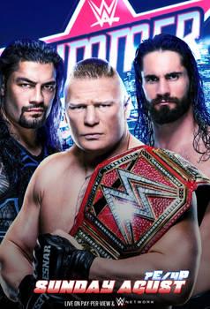 WWE Summerslam 2019 Poster
