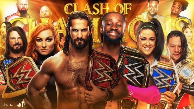 WWE Clash Of Champions 2019 Wallpaper