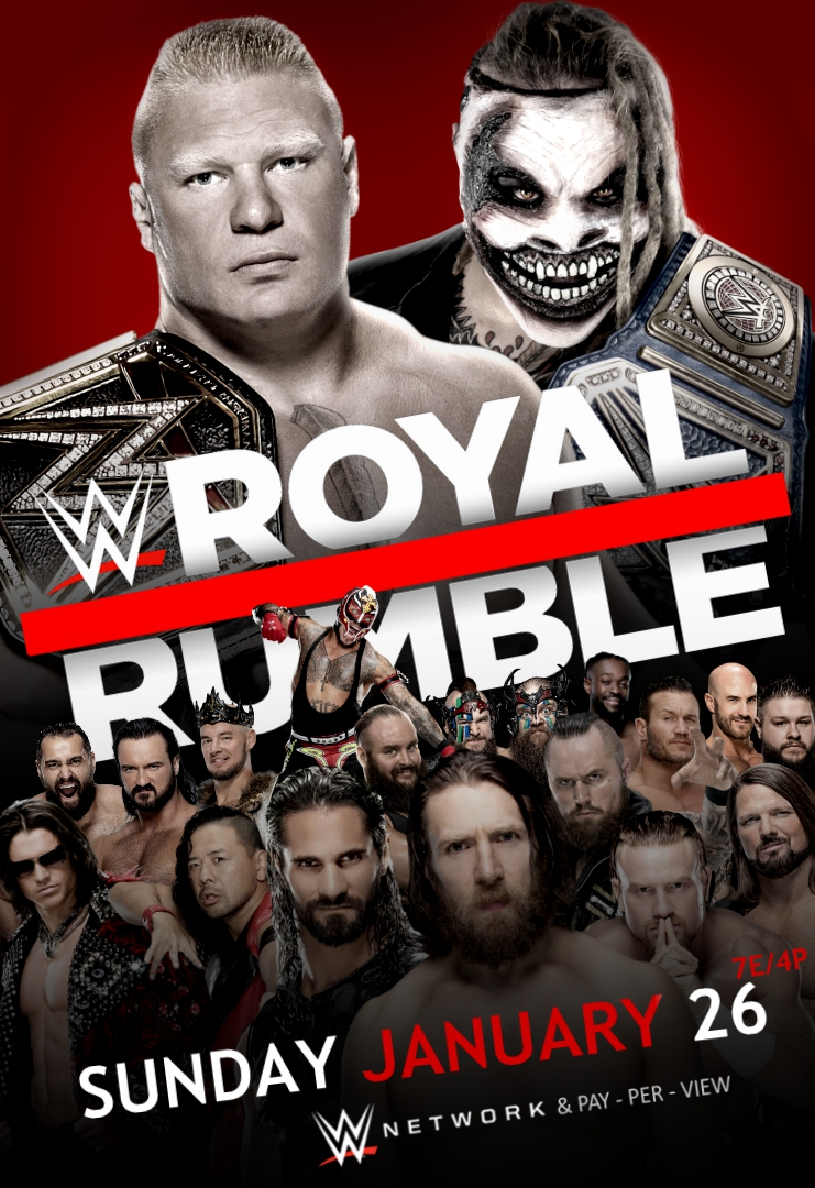 Image result for royal rumble 2020 poster