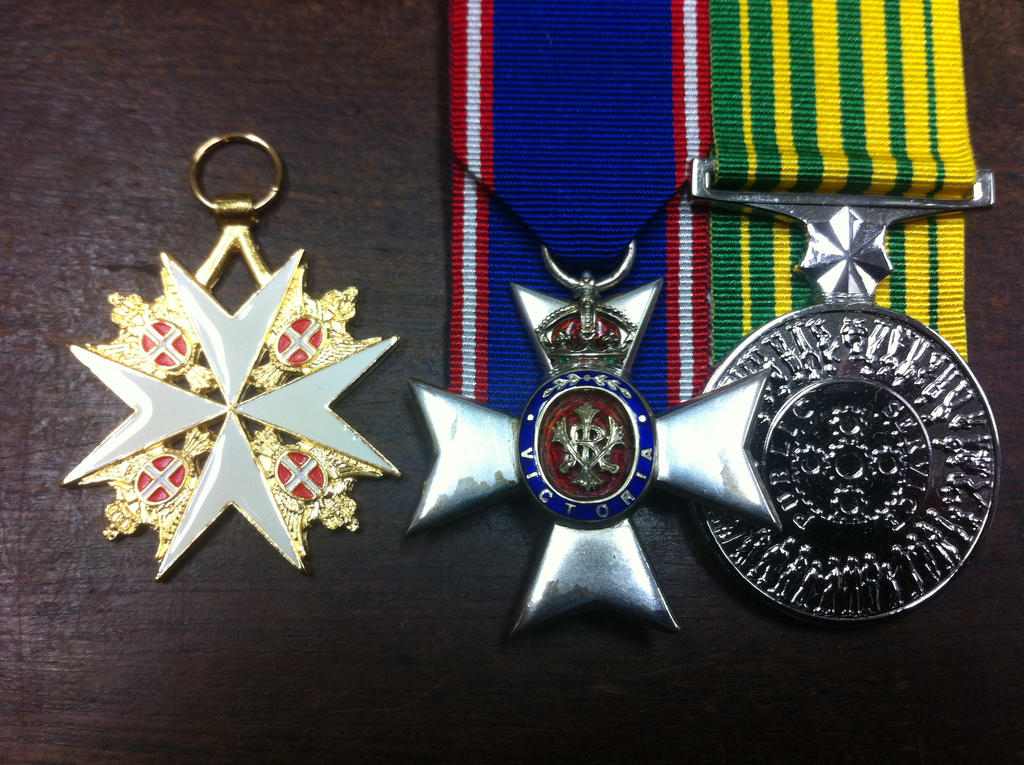 Medals of an ex GovGen by JBG666