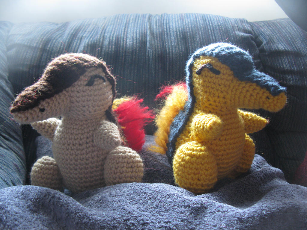 Cyndaquil And Shiny Cyndaquil