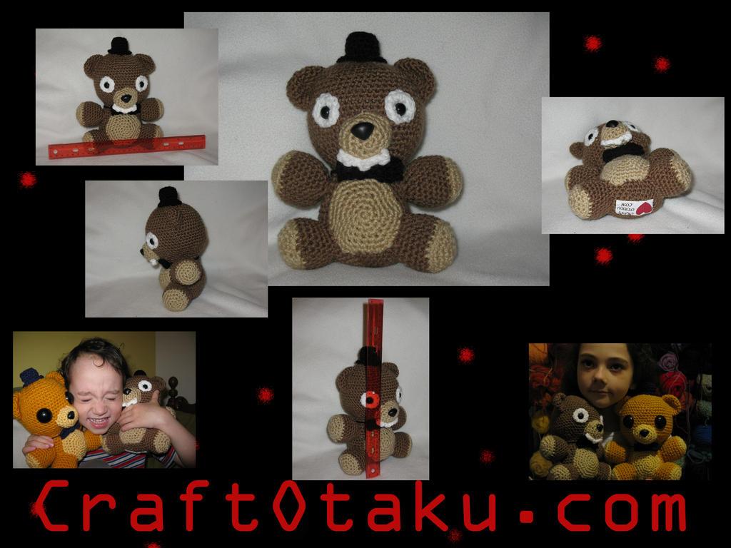 Freddy amigurumi by s0nicfreak