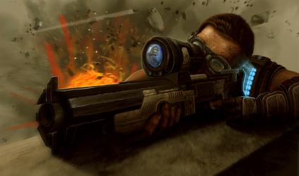 Gears of War - Sniper