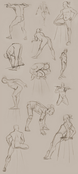Figure Studies 8/29