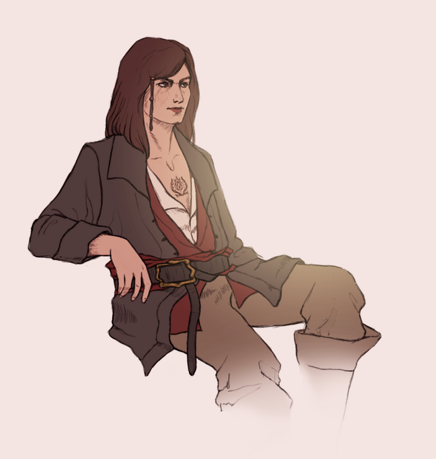 Mary Read by Gwendolaine