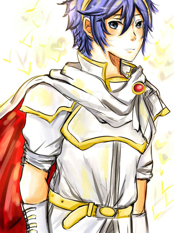 Prince Marth by shuukuun