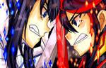 Kill La Kill-Ryuko and Satsuki