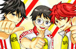 Yowamushi Pedal Trio