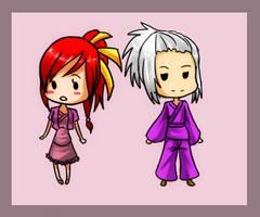 Chibi commission set 5 by GazeRei