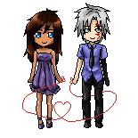 DGM: Pixel love - Kira x Allen by GazeRei