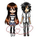 Daiki x Rei - pixel love by GazeRei