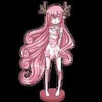 Comm: Pixel Deergirl by GazeRei