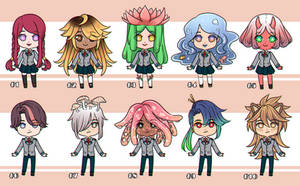 [CLOSED] BnHA Adopt #2 Batch - with quirks by GazeRei