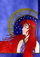 Rebecca - Art Noveau by eugeal