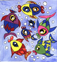 Mutant Fishes by eugeal