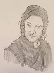 Guy of Gisborne - Pencil Sketch
