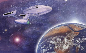 Starship Enterprise by eugeal