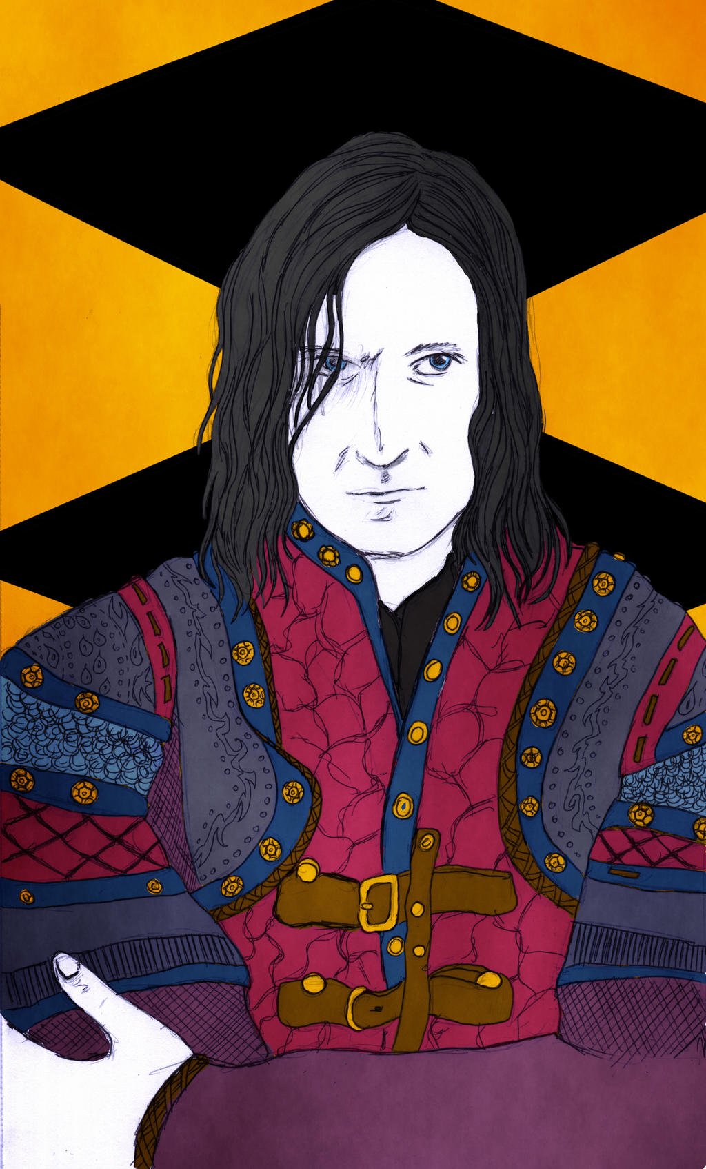 Sir Guy of Gisborne by eugeal