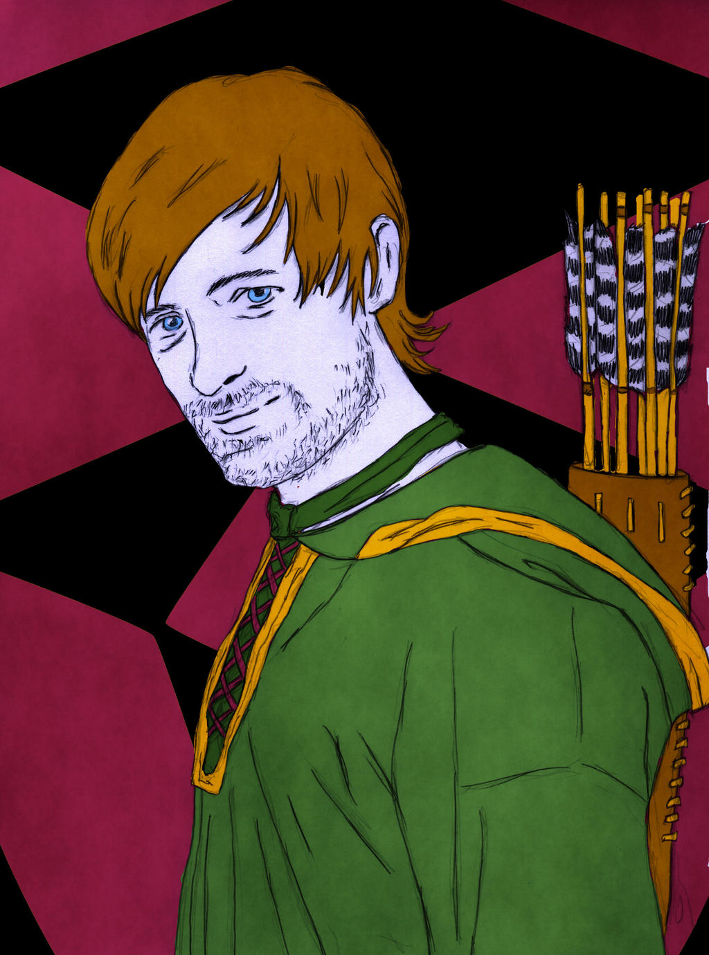 Robin Hood by eugeal