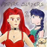 Vampire Slayers by eugeal