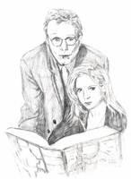 Giles and Buffy by eugeal