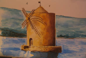 Windmill by eugeal