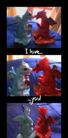 Valentine Dragons by eugeal