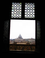 Window on St. Peter by eugeal
