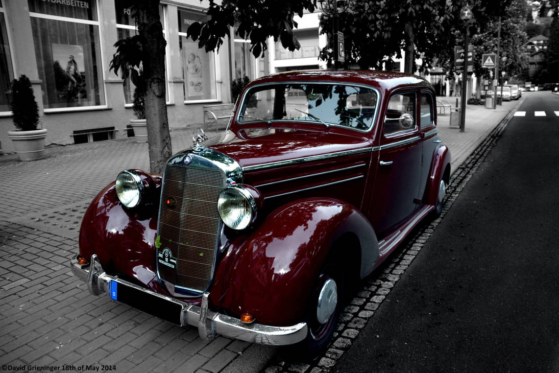 Mercedes 170 DS
