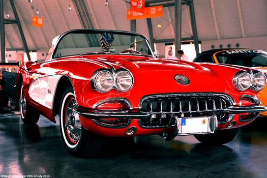 Corvette C1 Convertible by DavidGrieninger