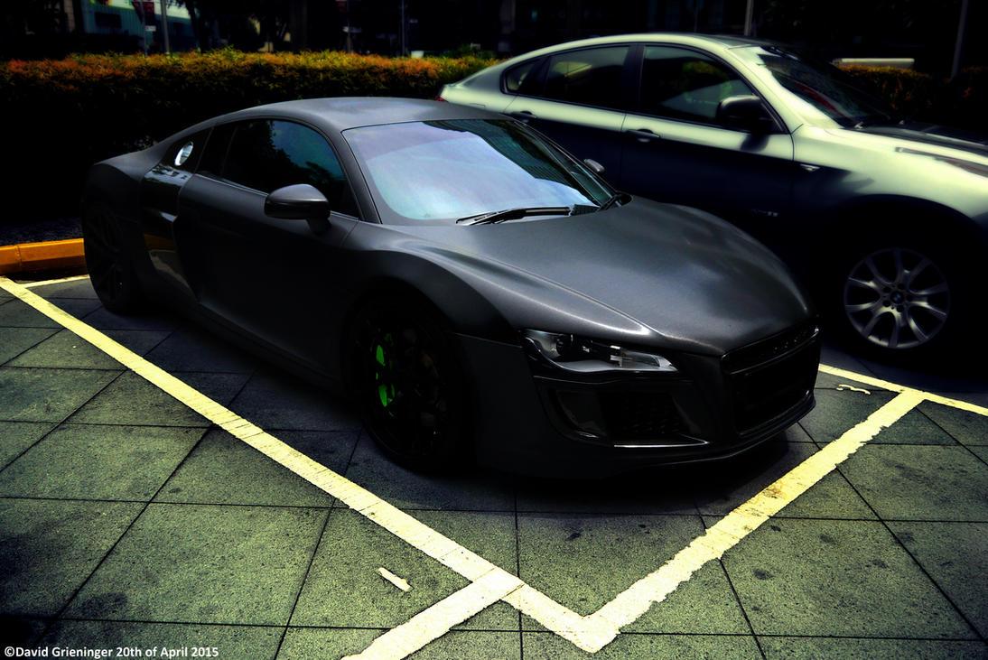 Audi R8 V10 Matte Black by DavidGrieninger