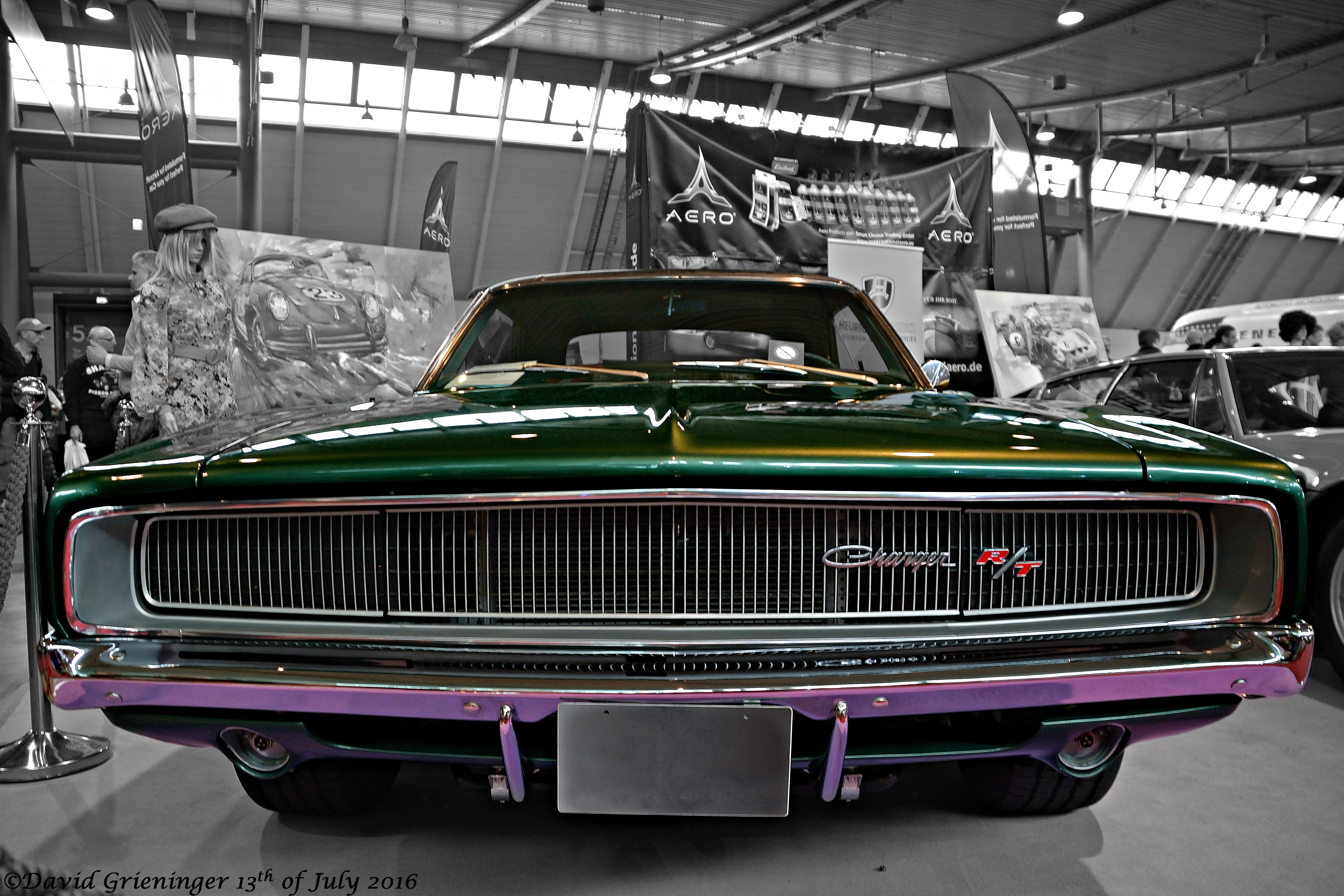 Dodge Charger R/T 1968 by DavidGrieninger