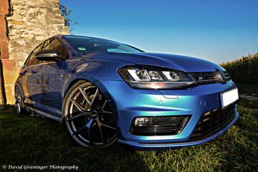 Blue MK7 Golf  R by DavidGrieninger