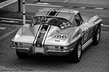1966 Corvette C2 Sting Ray by DavidGrieninger