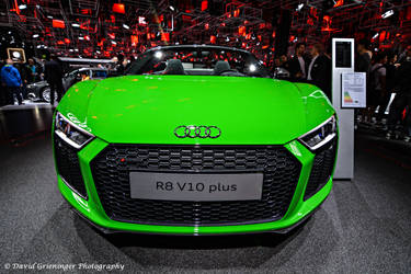 Audi R8 Spyder by DavidGrieninger