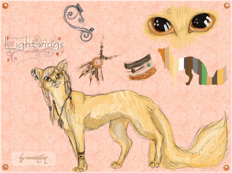 Рисунки Клюквы - Коты-Воители Знамение Звёзд.