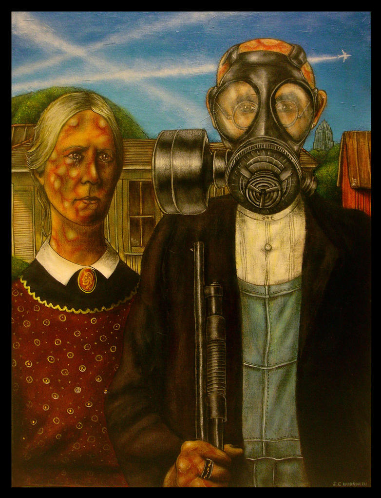 American Gothic By Jamorro
