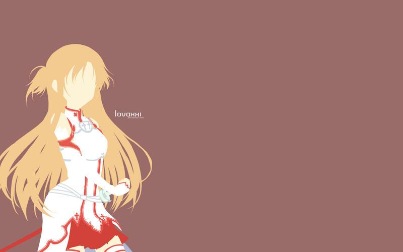 Minimalist asuna yuuki by lovaxxi on deviantart for Minimal art online