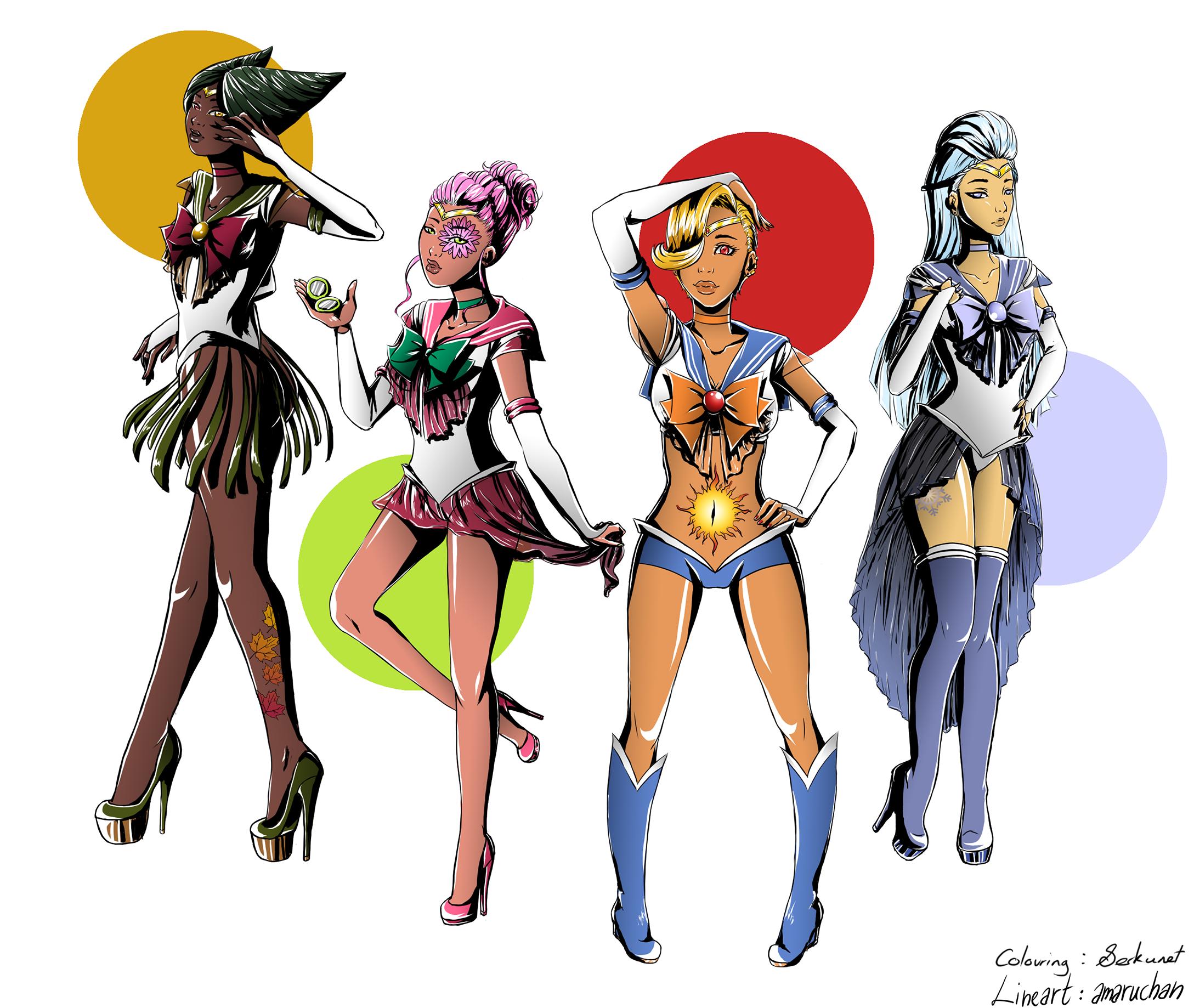 Sailor Seasons Contest Entry by serkunet