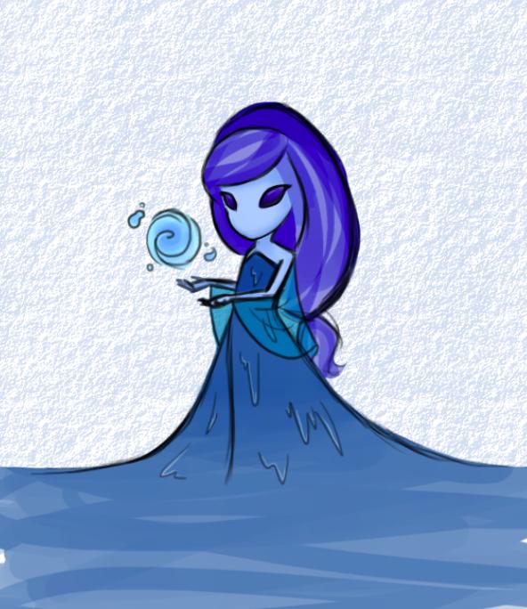 Water sprite by ErikaNegi