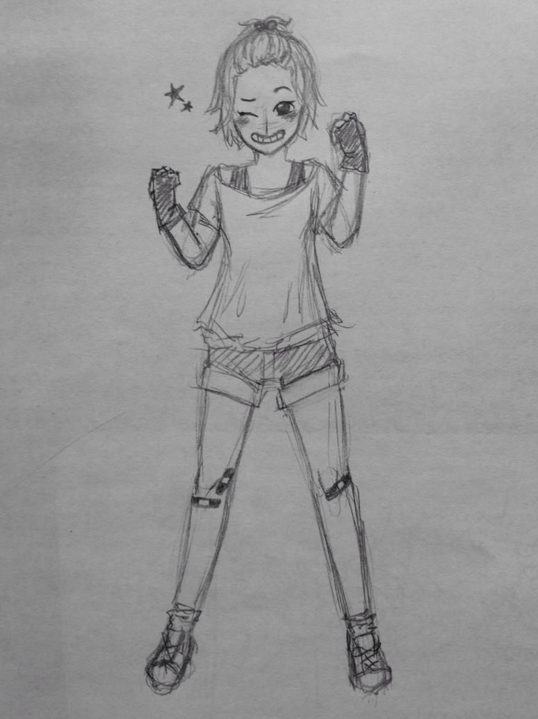 Sporty girl by ErikaNegi
