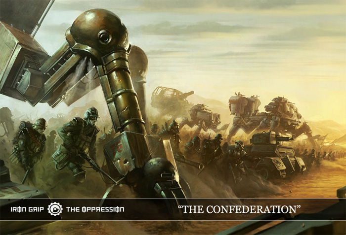 Confederate Army by Iron-Grip